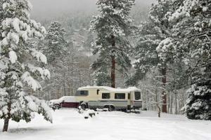 Snowy-Campsite