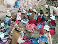 Women Chewing Coca Leaves