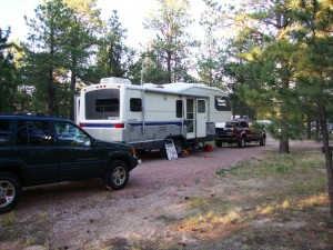 Camping at the Air Force Academy campground