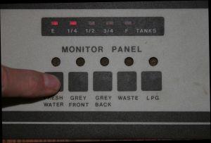 Tank Monitoring Panel