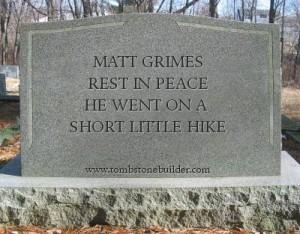 RIP - A Short Hike